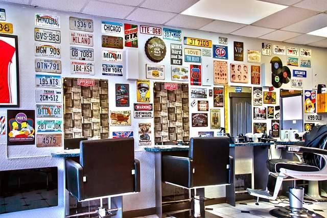 Barber Shop Decoration